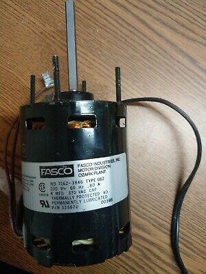 Ac Air Conditioner Condenser Fan Motor 230 Volts Fasco