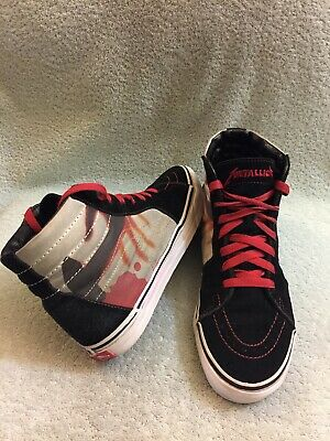 VANS METALLICA KILL EM ALL ANTHRAX SLAYER MEGADETH IRON MAIDEN METAL Men's 7