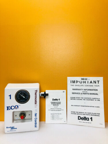 Delta 1 08-1500 Thermostatic Water Mixer. New + Manual!