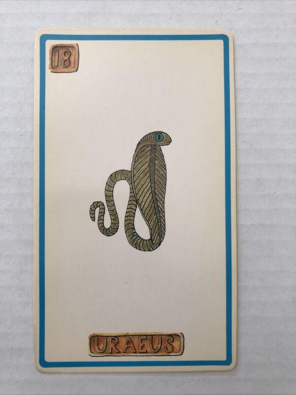 Cartouche Uraeus Card 18 Single Card Only No Box