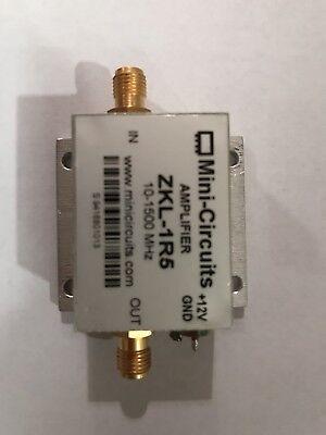 Mini-circuits Zkl-1r5 10-1500 Mhz Broadband Amplifier Used