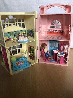 Fisher Price Loving Family Sweet Streets BEAUTY SALON & PET SHOP