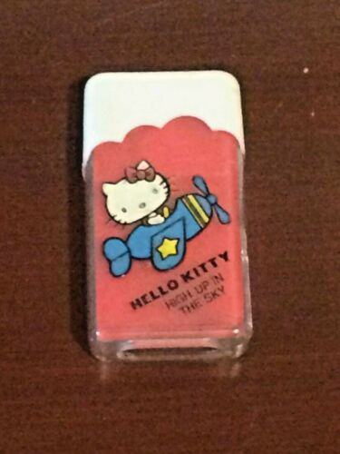 "Rare!! Sanrio Vintage Hello Kitty Eraser 1976 ""High Up In The Sky"" Made in Japan"