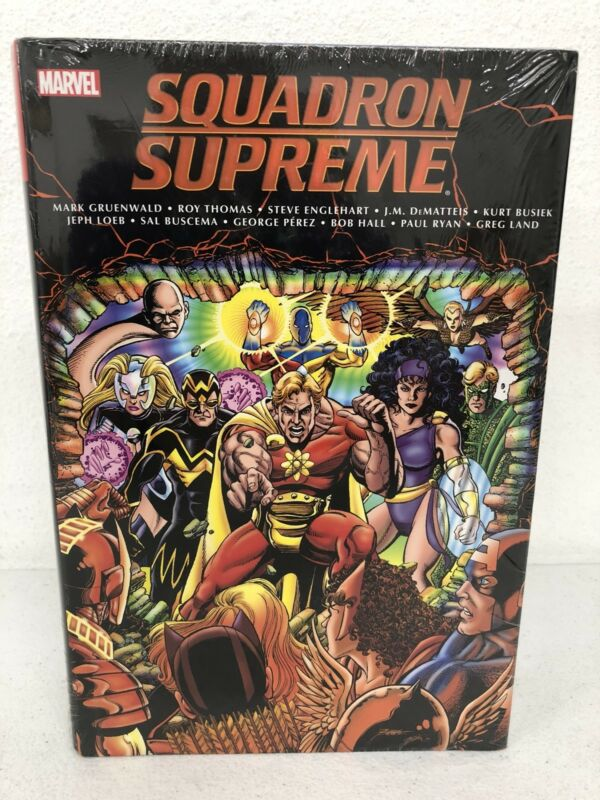 Squadron Supreme Classic Omnibus Marvel Comics Brand New Factory Sealed $125