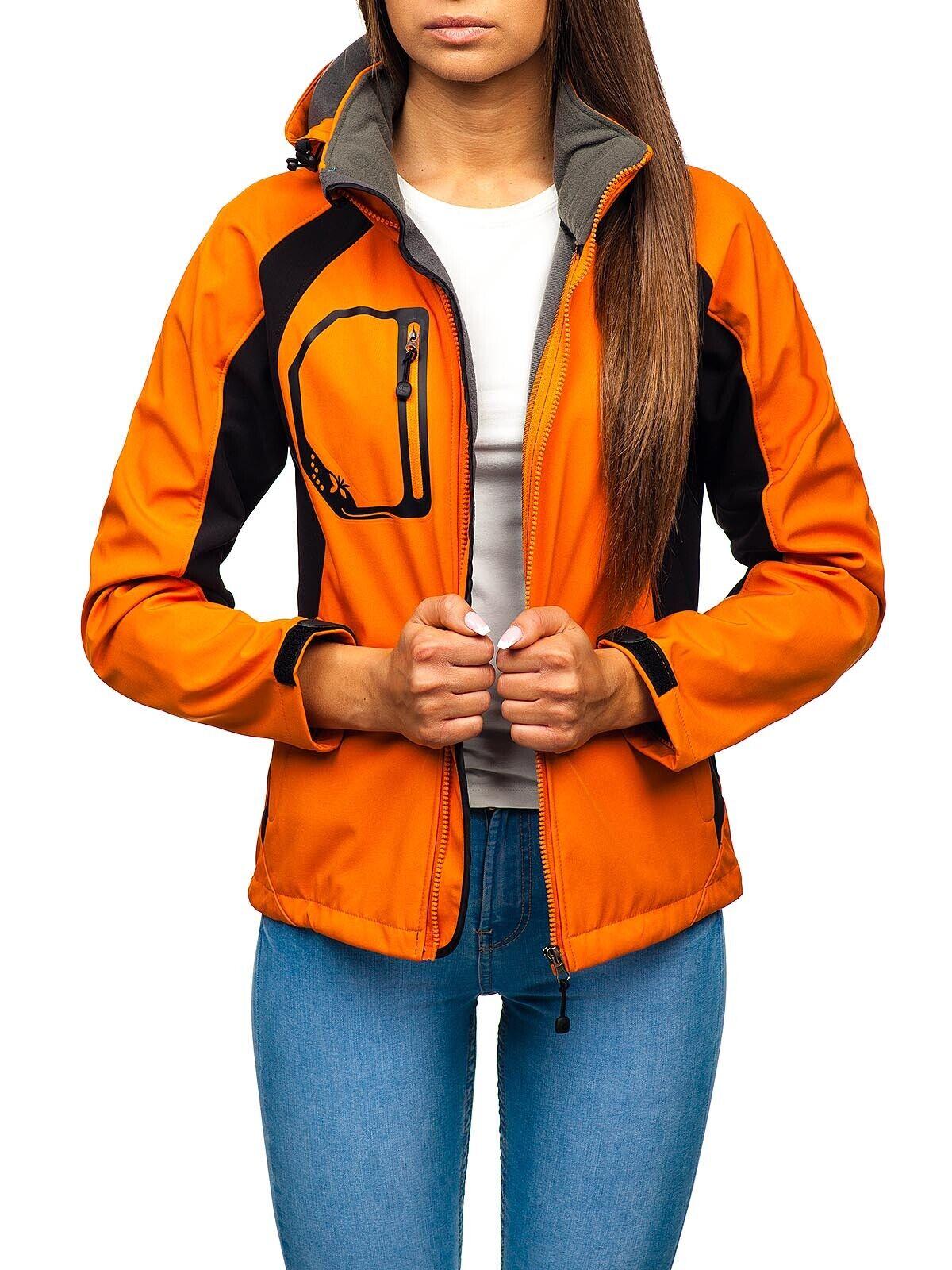 Softshelljacke Übergangsjacke Sweatjacke Sport Winter Damen BOLF D4D Soft Shell