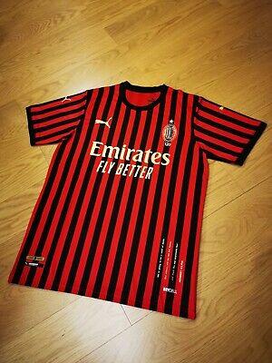 AC Milan 120 Years Edition Soccer Jersey #21 IBRAHIMOVIC Size XL