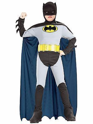 Kind, Ritter Kostüm (Rubies Dc Comics Batman Klassisch Dunkler Ritter Kind Jungen Halloween Kostüm)