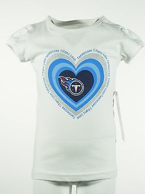 Tennessee Titans NFL Team Apparel official infant Toddler Girls T-shirt New -