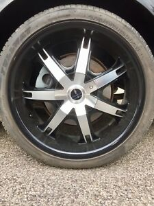 "20"" 5BOLT UNIVERSAL RIMS + NEW TIRES 4 SALE !!!!"