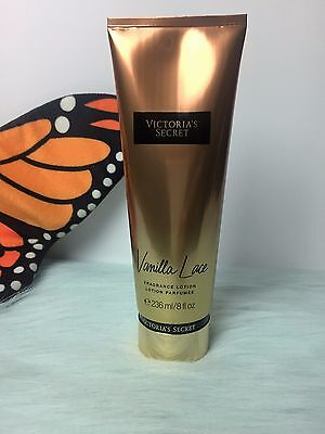 VICTORIA'S SECRET VANILLA LACE FRAGRANCE LOTION 8 OZ BRAND NEW 100% AUTHENTIC