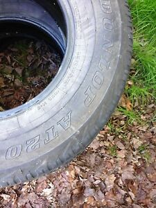 Six Tires and rims for sale 275/75/16