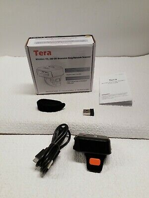 Tera Wireless Barcode Scanner Compatible With Bluetooth 1 Mp Scanning...