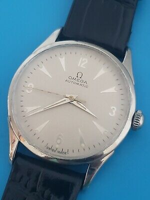 Vintage Omega Automatic Cal 354 Ref 2635 8 SC Mens Stainless Steel watch Working