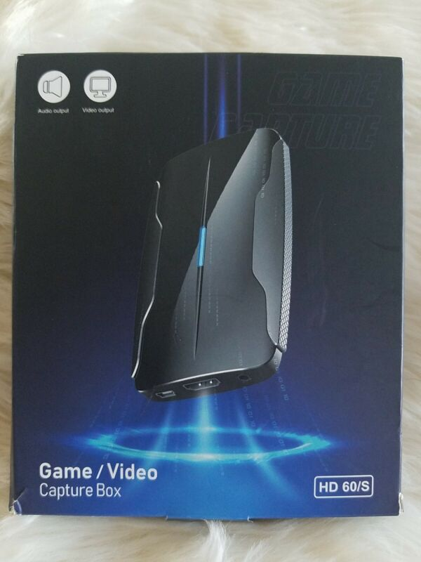 Game Capture Card HD 60/S