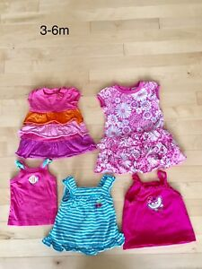 3-6 month Dresses and tank tops