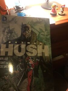 Batman: Hush Comic Graphic Novel Sippy Downs Maroochydore Area Preview