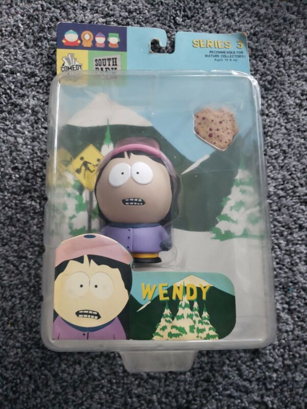 South Park Wendy Figure Mirage Series 3 Mezco 2004 Cartman Kenny New In Box