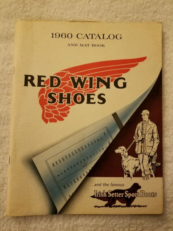 Red Wing Shoes Shoe Catalog for 1960