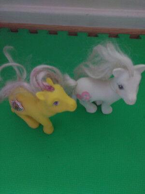 Hasbro My Little Poney white & Yellow  (My Little Poney)