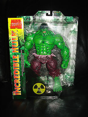 """Marvel  HULK  10"""" FIGURE w/ stand  RARE ! for sale  Shipping to India"""