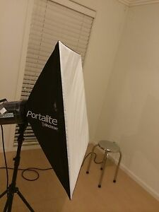 Elinchrom portalite soft box and other stuff Canley Vale Fairfield Area Preview