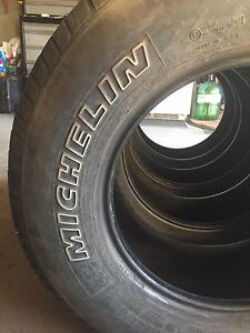 Michelin tires 265/70R17