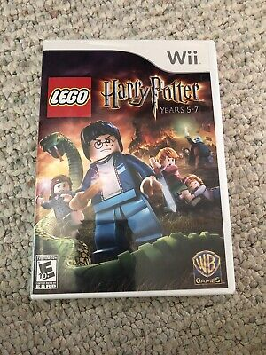 LEGO Harry Potter: Years 5-7 (Nintendo Wii, 2011) TESTED!!