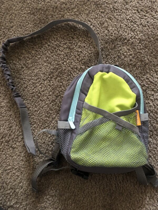 BRICA By My Side Safety Harness Green Backpack