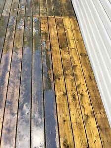 House, Barn & deck washing & staining