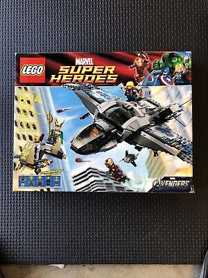 LEGO 6869 Super Heroes Avengers Quinjet Aerial Battle Nib Will Ship Without Box