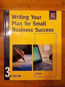 Writing Your Plan For Small Business Success (3rd) - Ian Dirt Crows Nest North Sydney Area Preview