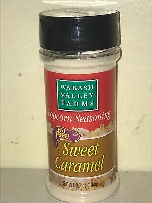 Wabash Valley Farms Popcorn Seasoning Sweet Caramel Fruits Nuts Pasta Vegetables