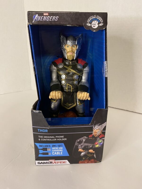 Marvel Avengers Cable Guys Gamerverse Phone & Controller Holder - Thor