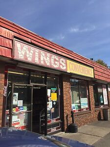 Wings convenience and pizzaria business