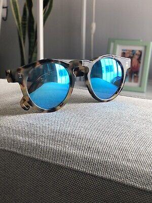 Illesteva Tortoise Blue Mirrored Sunglasses Free Worldwide Shipping