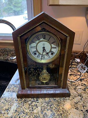 Antique Waterbury Mantel Clock