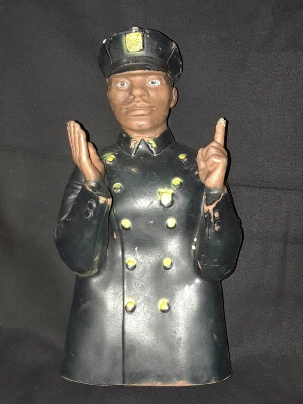 VTG, Childcraft 1968, Rubber Hand puppet, African American, Good condition.