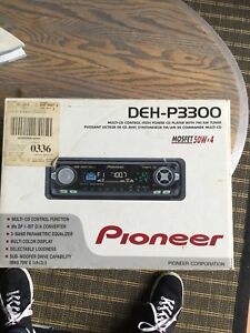 Pioneer Automobile  Stereo System