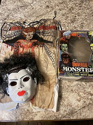 Vintage Universal Monster, Bride of Frankenstein Halloween Costume
