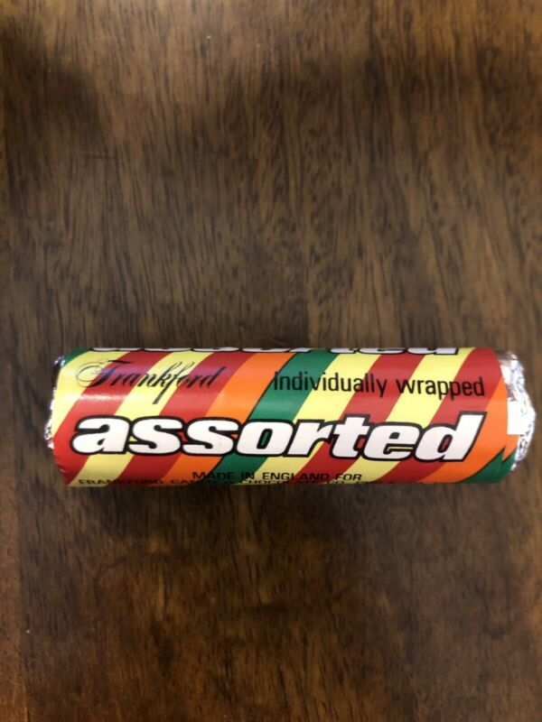 Vintage Life Savers Frankford Assorted Fruit Candy NOS Unopened Roll