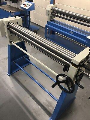 Mach /roll 620 X 60mm metal  Geared Bending Rollers rolls