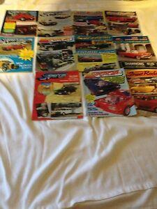 11x Supercar & Australian Street Rodding Magazines Box Hill North Whitehorse Area Preview