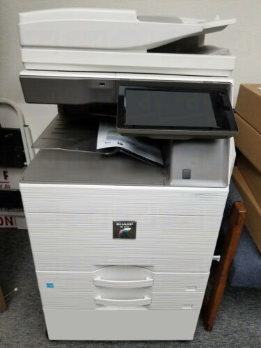 Sharp Mx-4070n A3 Color Laser Copier Printer Scanner Mfp 40 Ppm 5070n 6070n
