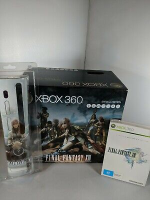 Xbox 360 Final Fantasy XIII Console Special Edition Bundle New Factory Sealed