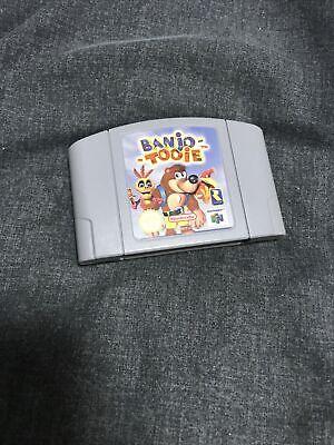 Genuine Banjo Tooie Cartridge Nintendo 64 N64 PAL Tested Working