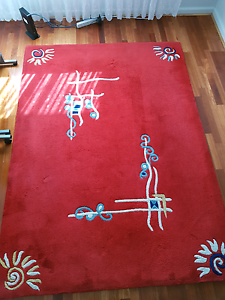 Red design rug Doveton Casey Area Preview