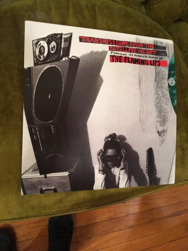 """The Flaming Lips Transmissions From The Satellite 12.5""""x12.5"""" Promo Poster"""