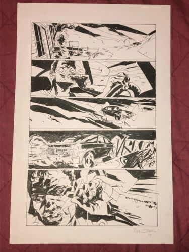 CRIMINAL MACABRE Original Interior Art Page 16-My Demon Baby issue 2-Dark Horse