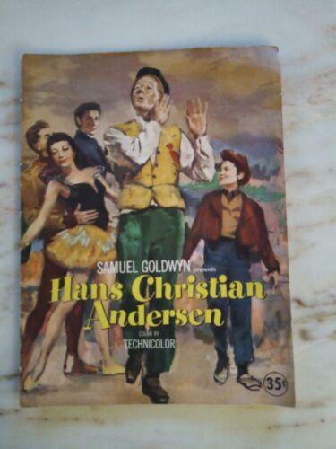 HANS CHRISTIAN ANDERSON 1952 Film Program/Press Samuel Goldwyn Presents