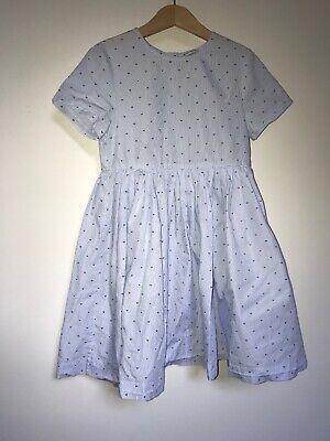 Dolce & Gabanna - Girls Baby Blue Dress - Size 7-8 Y  120-131cm (Dolce Y Gabanna)